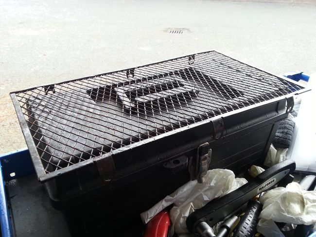 radiator grill for repainting